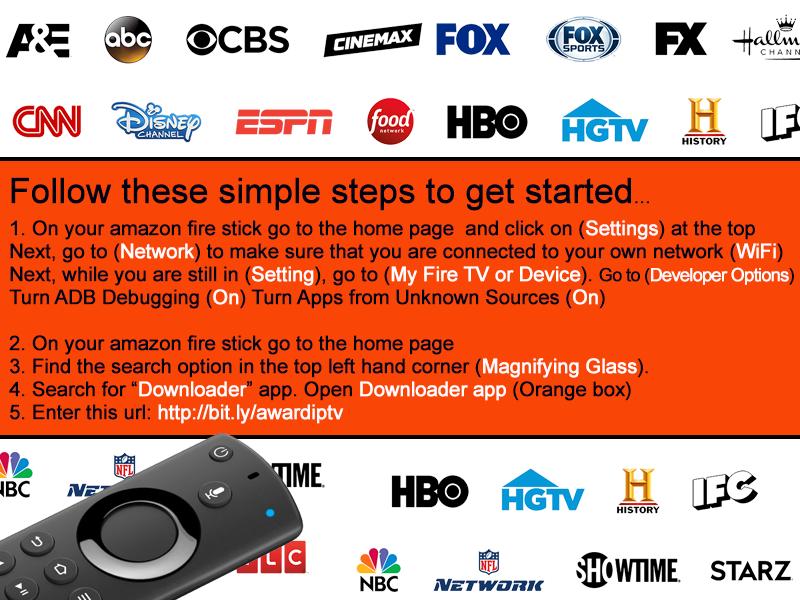 Fire Tv Stick Channels List